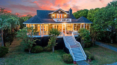 Sullivans Island SC Single Family Home For Sale: $2,625,000
