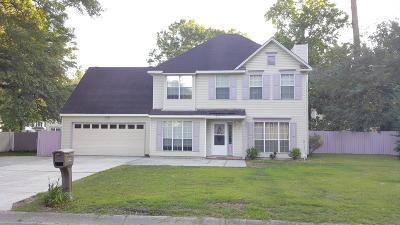 Charleston Single Family Home For Sale: 212 Mansfield Boulevard