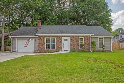 Summerville Single Family Home For Sale: 100 Chaff Court