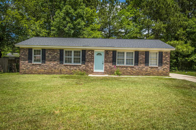 Ladson Single Family Home Contingent: 110 Shirley Lane