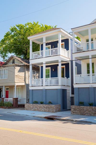 Charleston Single Family Home For Sale: 144 President Street
