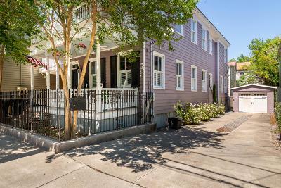 Charleston Single Family Home For Sale: 10 Nassau Street