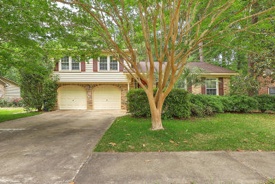 Summerville Single Family Home For Sale: 207 Summercourt Drive