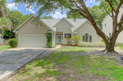 Mount Pleasant Single Family Home For Sale: 1814 Falling Creek Circle