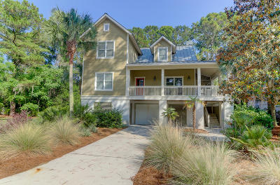Seabrook Island Single Family Home For Sale: 3025 Seabrook Village Dr