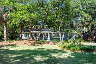 Isle Of Palms Single Family Home For Sale: 25 29th Avenue