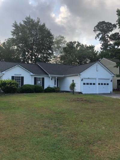 North Charleston Single Family Home For Sale: 8426 Old Carriage Court