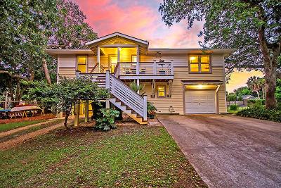 Isle Of Palms Single Family Home For Sale: 3808 Hartnett Boulevard