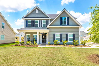 Moncks Corner Single Family Home For Sale: 482 Foxbank Plantation Boulevard