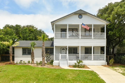 Isle Of Palms Single Family Home For Sale: 2905 Palm Boulevard