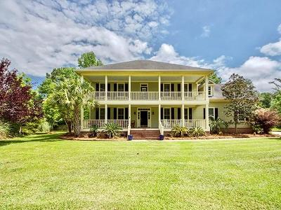 Single Family Home For Sale: 3766 Colonel Vanderhorst Circle