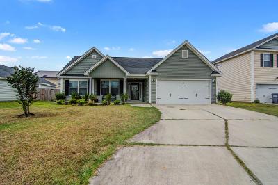 North Charleston Single Family Home Contingent: 7827 Jean Rebault Drive