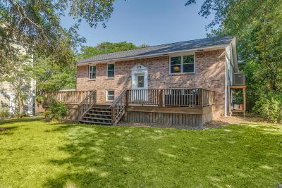 Folly Beach Single Family Home For Sale: 1010 E Ashley Avenue