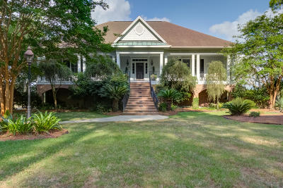 Berkeley County, Charleston County, Colleton County, Dorchester County Single Family Home For Sale: 5092 Chisolm Road