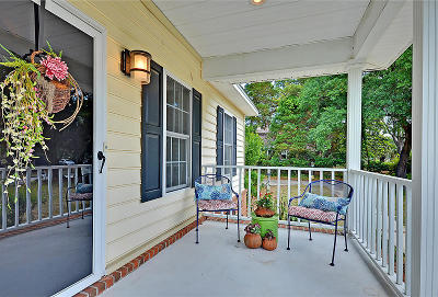 Charleston Single Family Home For Sale: 858 Mikell Drive