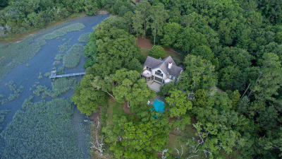 Wadmalaw Island Single Family Home For Sale: 1310 Martins Point Road