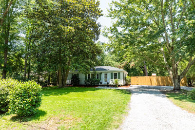Johns Island Single Family Home Contingent: 3572 Berryhill Road
