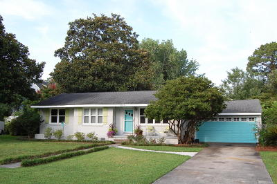 Mount Pleasant Single Family Home For Sale: 1515 Kathryn Street