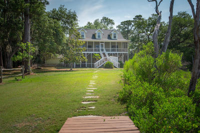 Edisto Island Single Family Home For Sale: 8934 Sandy Creek Rd Road