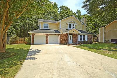 North Charleston Single Family Home Contingent: 124 Knightsbridge Drive