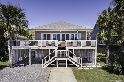 Isle Of Palms Single Family Home For Sale: 511 Ocean Boulevard