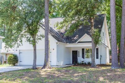 Charleston Single Family Home For Sale: 734 Ponderosa Drive
