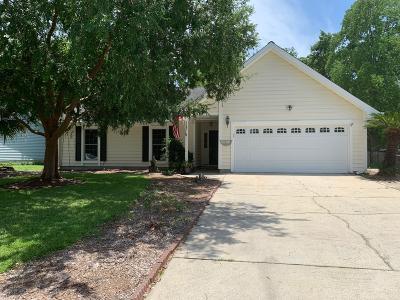 Mount Pleasant Single Family Home For Sale: 1545 Landings Run