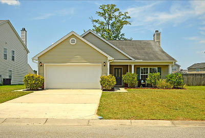 Goose Creek Single Family Home Contingent: 259 Clayburne Drive