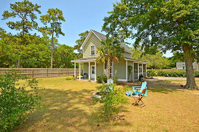 Awendaw Single Family Home Contingent: 909 Ralph Nesbitt Road