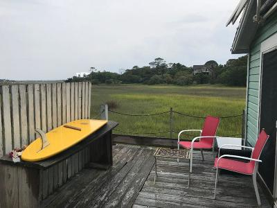 Folly Beach Single Family Home For Sale: 1201 E Cooper Avenue