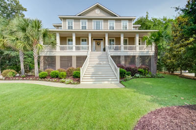 Mount Pleasant Single Family Home For Sale: 3073 Intracoastal View Drive