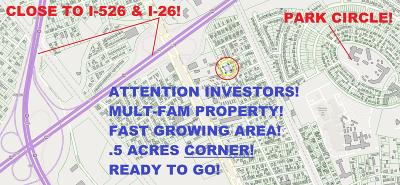 Charleston Residential Lots & Land For Sale: 5116 Piedmont Avenue