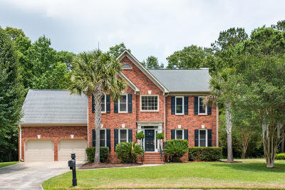 Mount Pleasant Single Family Home For Sale: 2716 Gaston Gate