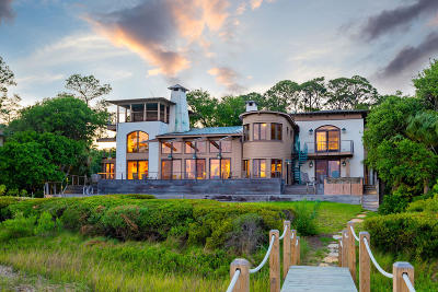 Johns Island SC Single Family Home For Sale: $2,625,000