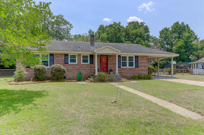 Charleston Single Family Home Contingent: 1173 Winborn Drive