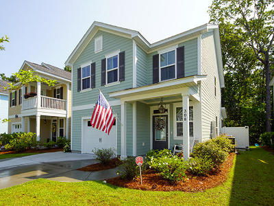 Charleston Single Family Home For Sale: 308 Grouse Park