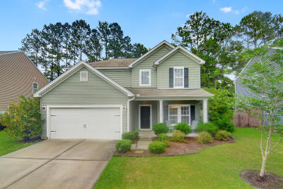 North Charleston Single Family Home For Sale: 8450 Rice Basket Lane