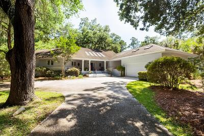 Johns Island Single Family Home For Sale: 2817 Capn Sams Road