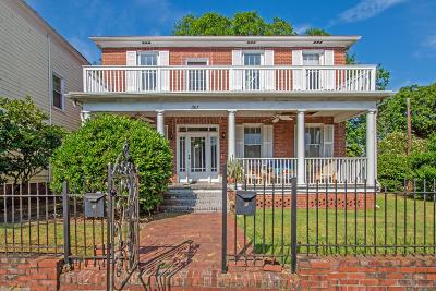 Charleston Single Family Home For Sale: 301 Ashley Avenue
