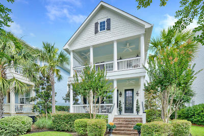 Charleston Single Family Home For Sale: 1540 Mitchell Wharf Street