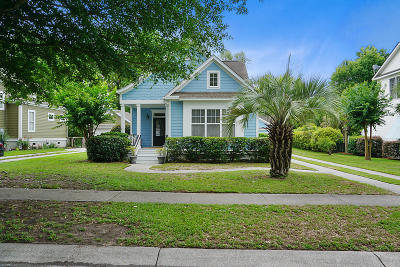 Johns Island Single Family Home Contingent: 5122 Coral Reef Drive