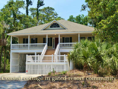 Edisto Island Single Family Home Contingent: 32 Whalers Court