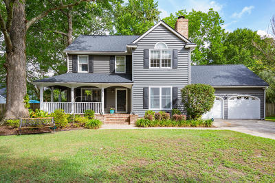 Charleston Single Family Home Contingent: 1688 W Sandcroft Drive