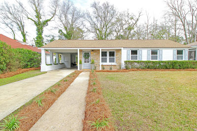 Charleston Single Family Home For Sale: 20 Rosedale Drive