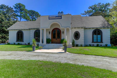 Charleston Single Family Home For Sale: 1516 Fairway Drive