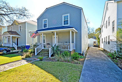 Charleston County Multi Family Home For Sale: 207 W Poplar St