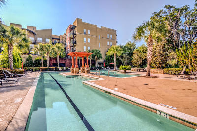 Berkeley County, Charleston County Attached For Sale: 125 Pier View Street #208