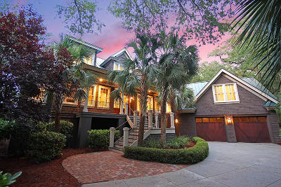 Charleston County Single Family Home For Sale: 40 Kiawah Island Club Drive