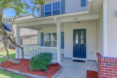 Summerville Single Family Home For Sale: 339 Southport Drive