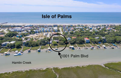 Isle Of Palms Single Family Home For Sale: 1001 Palm Boulevard
